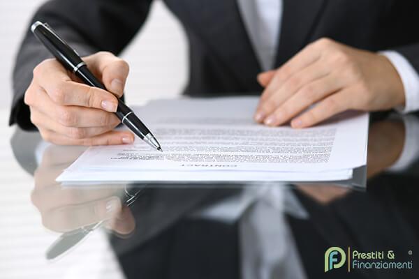 modulo secci convenienza del prestito e istruzioni per l uso