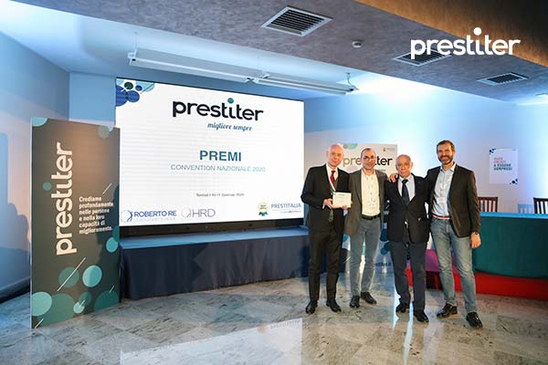 Premiazione Vertici Prestitalia - Convention Nazionale 2020