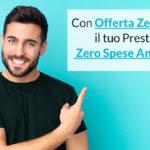 Prestito offerta zero spese